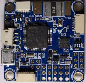 Полетный контроллер квадрокоптера Omnibus F4 v3 Pro