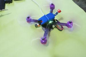 квадрокоптер на полетном контроллере Mamba