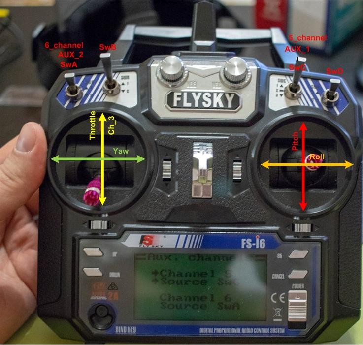 Радиоаппаратура Flysky. Квадрокоптер своими руками