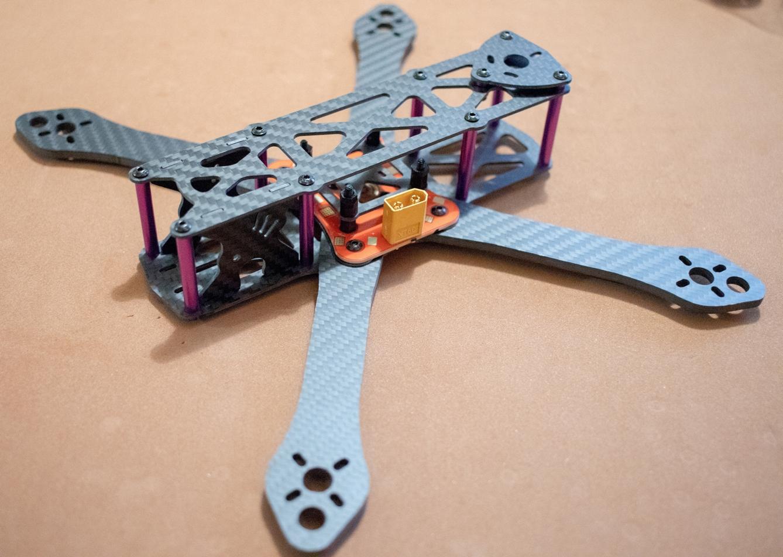 Рама для квадрокоптера с GPS своими руками