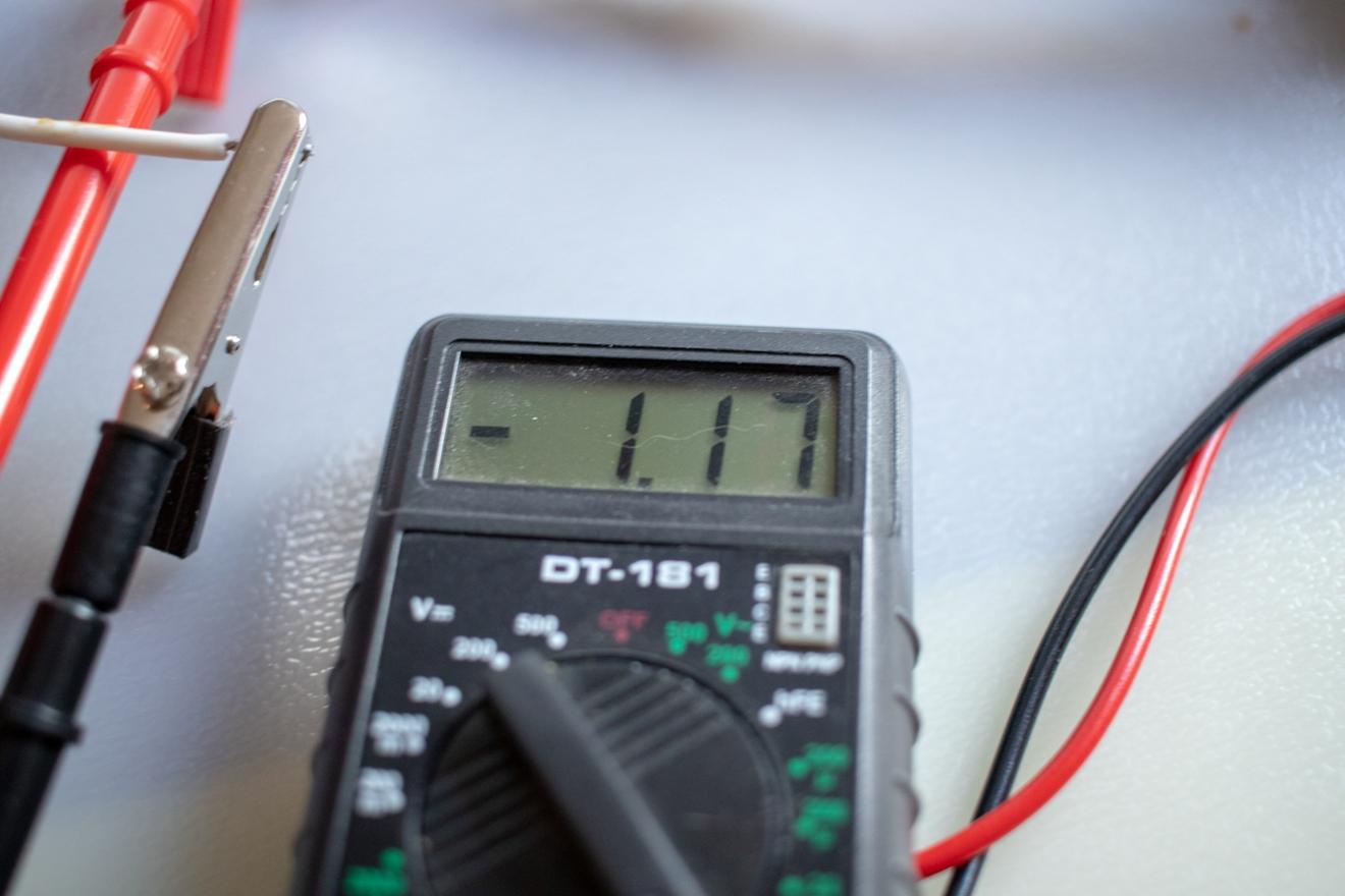 Потребляемый квадрокоптером ток