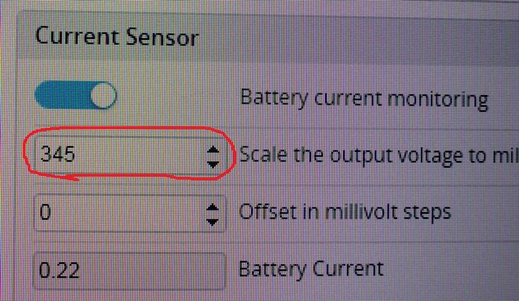 Как настроить датчик силы тока квадрокоптера