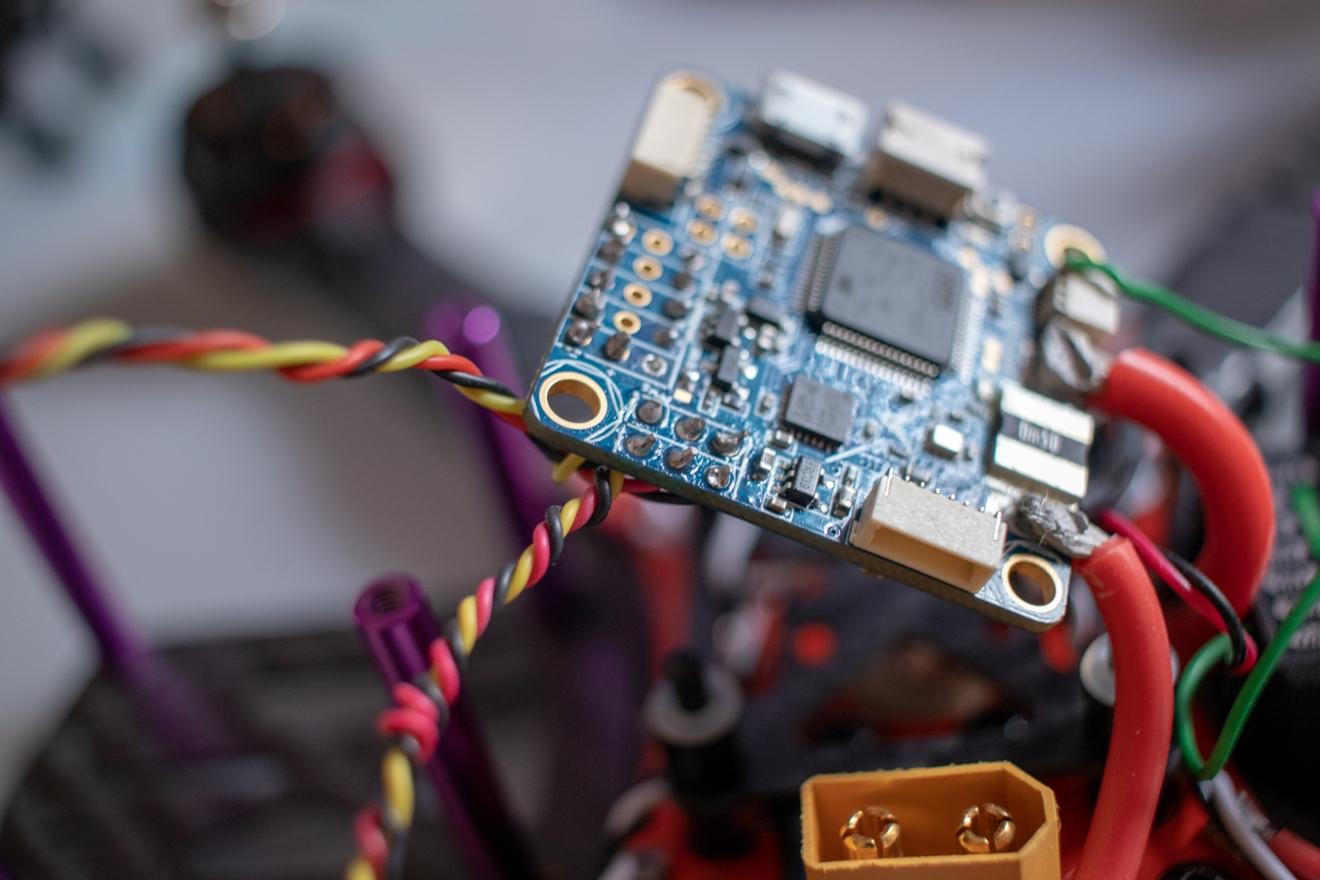 FPV система квадрокоптера с GPS