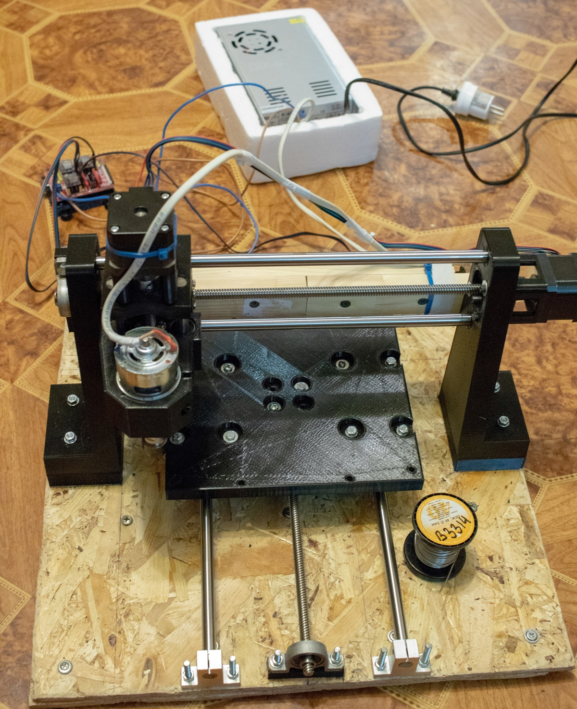 Станок с числовым программным управлением (ЧПУ) на 3D принтере для домашних работ